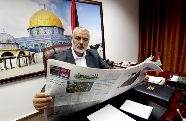 Ismail Haniyeh é eleito líder do Hamas palestino