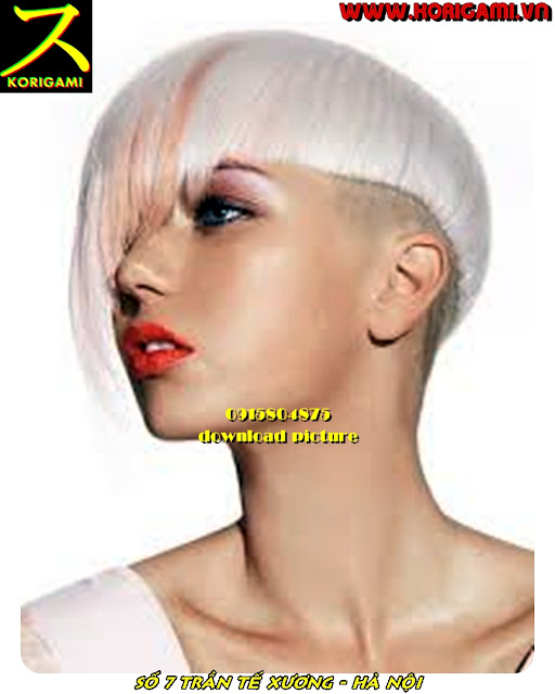 BEST HAIR SALON FOR WOMEN'S SHORT HAIRCUT AND COLOR IN HANOI VIETNAM