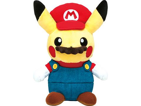 Nintendo y Pokémon sorprenden con su merchandising de Mario Pikachu