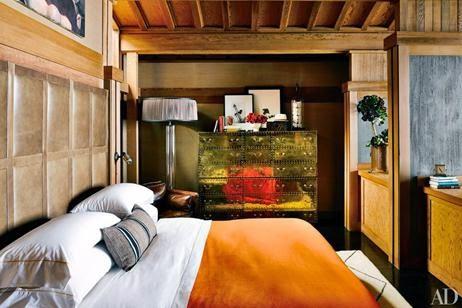 Roupa de cama tom madeira