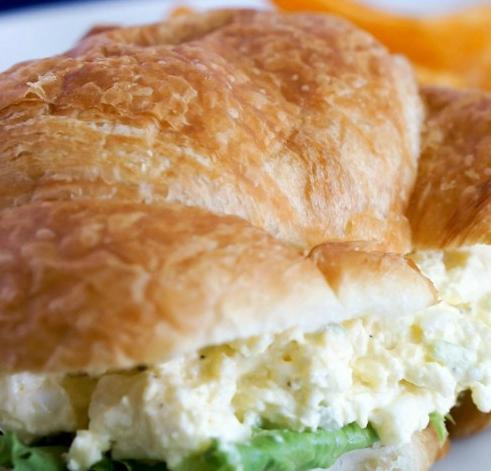 Recipe Deluxe Egg Salad #christmas #breakfast