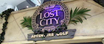 The Lost City Adventure Golf in Nottingham