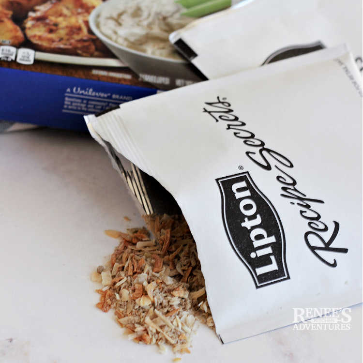 Image of Lipton Onion Soup mix for meatloaf recipe