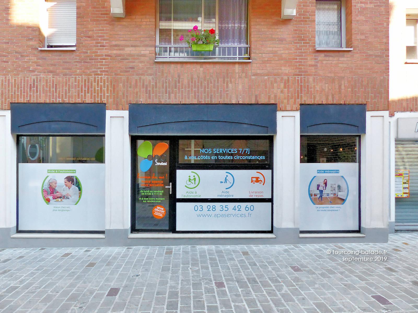 APA Services Tourcoing - Agence rue du Haze