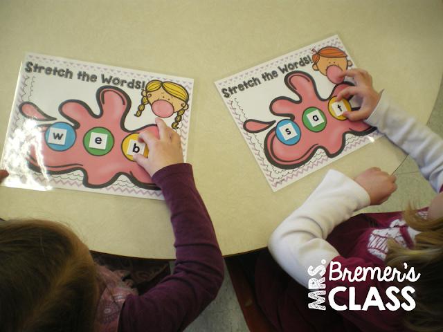 CVC activities and sight word practice for Kindergarten literacy centers