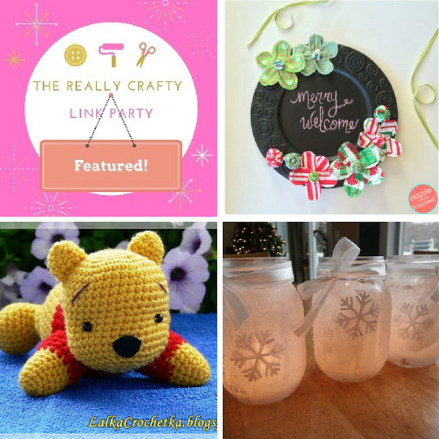The Really Crafty Link Party #44 featured posts