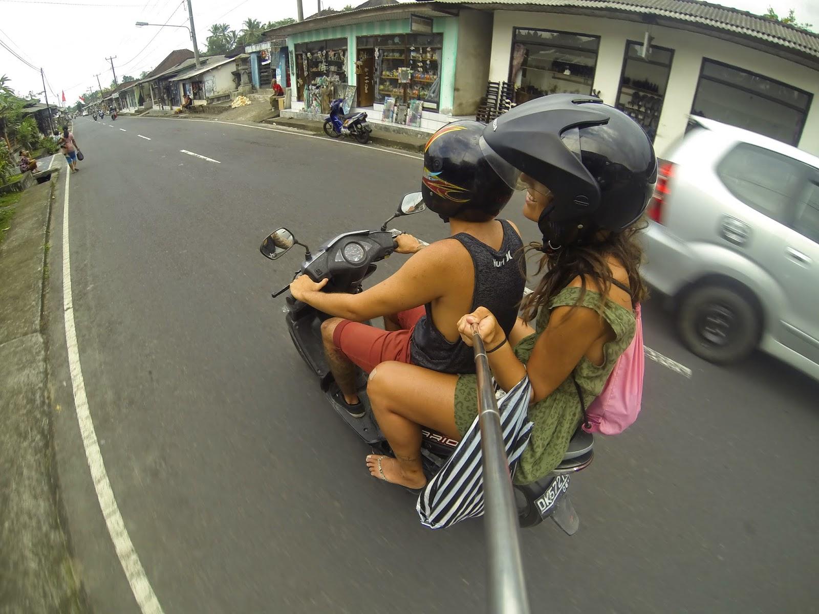 Gopro moto Bali