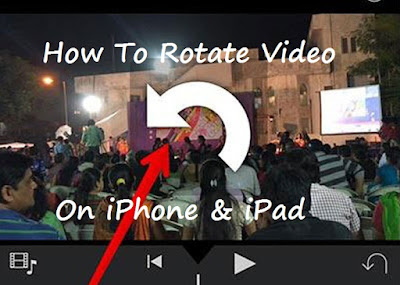 How to,Rotate Video,iPhone,iPad,iMovie App