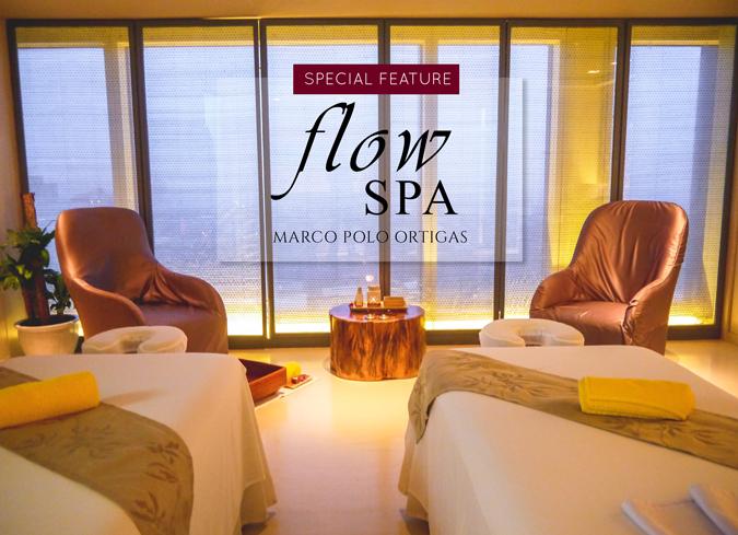 Luxurious Indulgence at Flow Spa - Marco Polo Ortigas | Pepe Samson