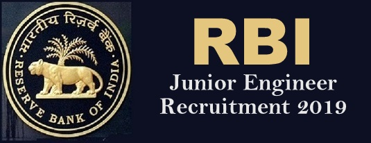 RBI Junior Engineer Recruitment 2019