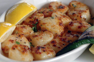 best broiled scallops