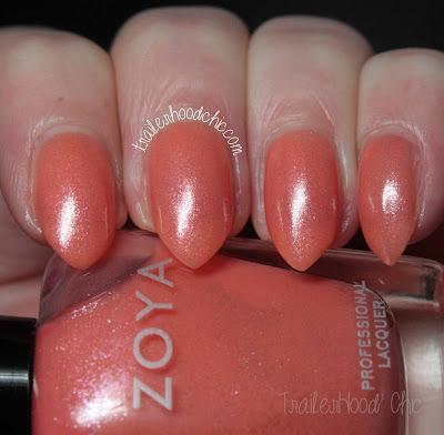 zoya petals swatches review zahara