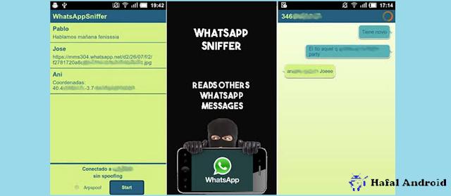 Aplikasi Membajak WhatsApp Bernama WhatsApp Sniffer