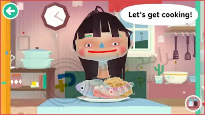 الطهي لعبة توكا بوكا