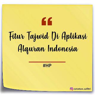 Cara Mengetahui Makna Warna Tajwid Di Aplikasi Alquran Indonesia