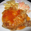 CHICKEN CHOP WITH RED SAUCE