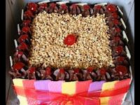 kue tabur enting rasa kacang