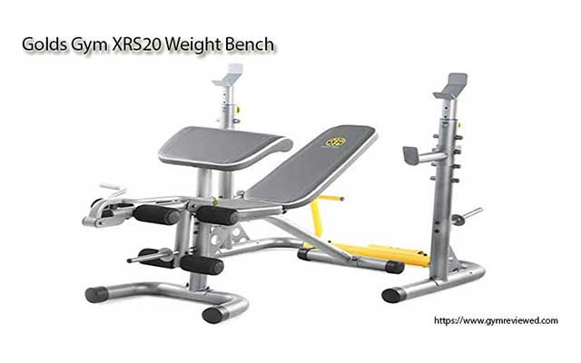 Golds Gym XRS20 Weight Bench - Gold Gym Equipment