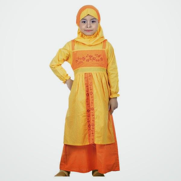 15 Contoh Model Baju Muslim Anak Perempuan Terbaru