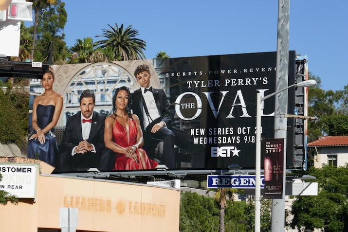 Oval series premiere billboard