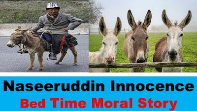 Naseeruddin Innocence BedTime Moral Story