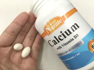補充紐萊特鈣+d3