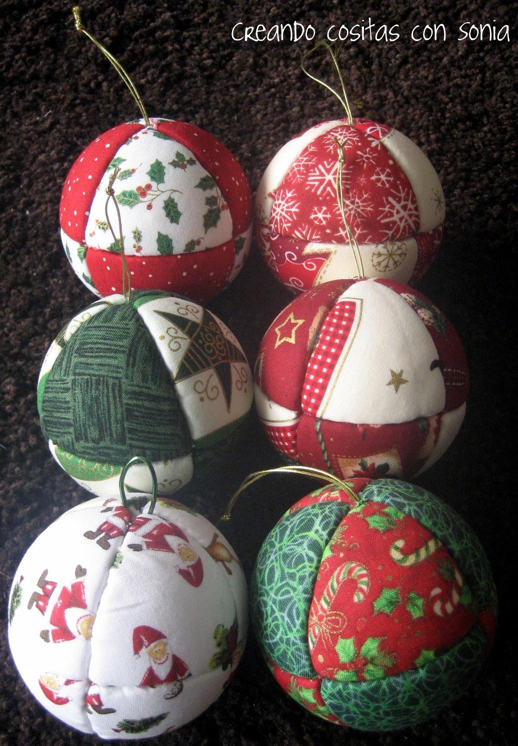 Como Decorar Bolas De Navidad De Poliespan.Creando Cositas Con Sonia Noviembre 2011