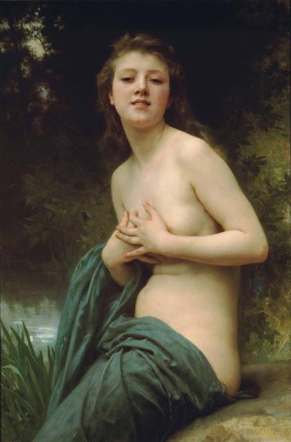 Адольф Вильям Бугро - Весенний бриз (1895)