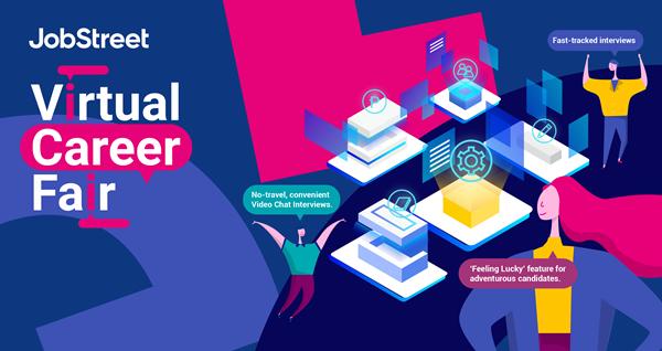 JobStreet's Virtual Career Fair