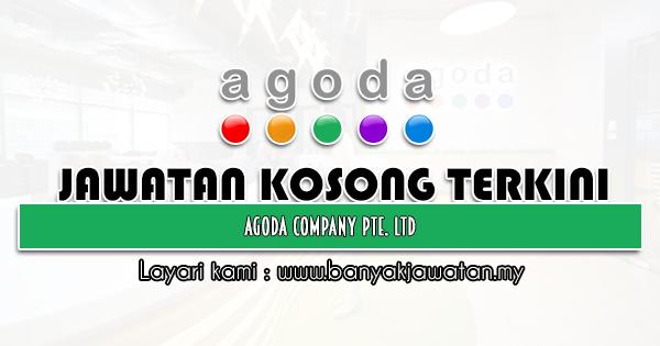 Jawatan Kosong 2021 di Agoda Company Pte. Ltd