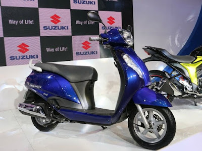 All New 2016 Suzuki Access 125 HD Image