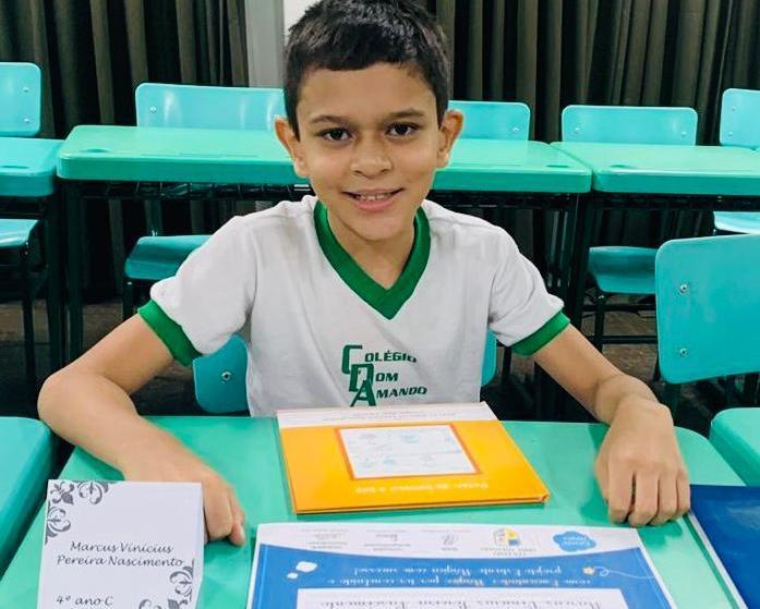 Escritor de 10 anos lança seu segundo livro em Santarém: Peter: de boneco a juiz