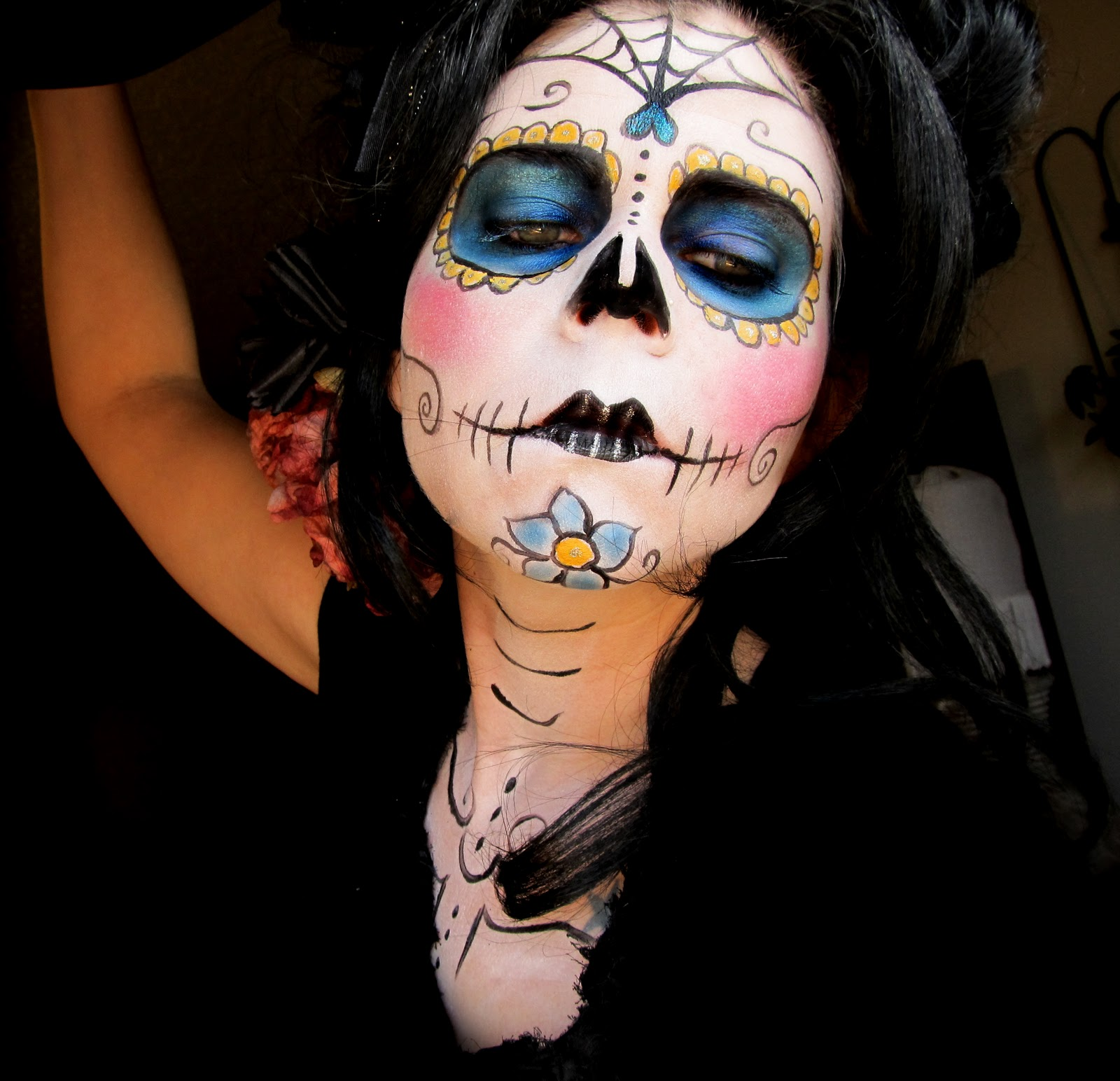 day of the dead makeup couple - photo #39