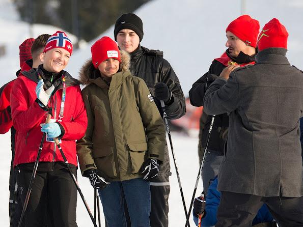 Crown Princess Mette Marit and Crown Prince Haakon of Norway and Princess Ingrid Alexandra and Sverre Magnus