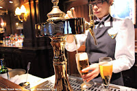 Beer Dispenser at The Teddy Roosevelt Lounge in DisneySea Japan