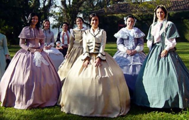 roupas mulheres em 1875