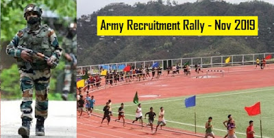 Army Recruitment Rally 2019 Aizawl