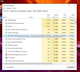 Cara Mengatasi Windows Explorer Not responding