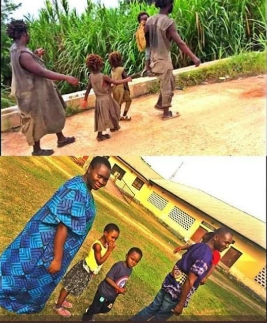Nigerian Family Thought To Be Mentally Deranged Undergo Transformation