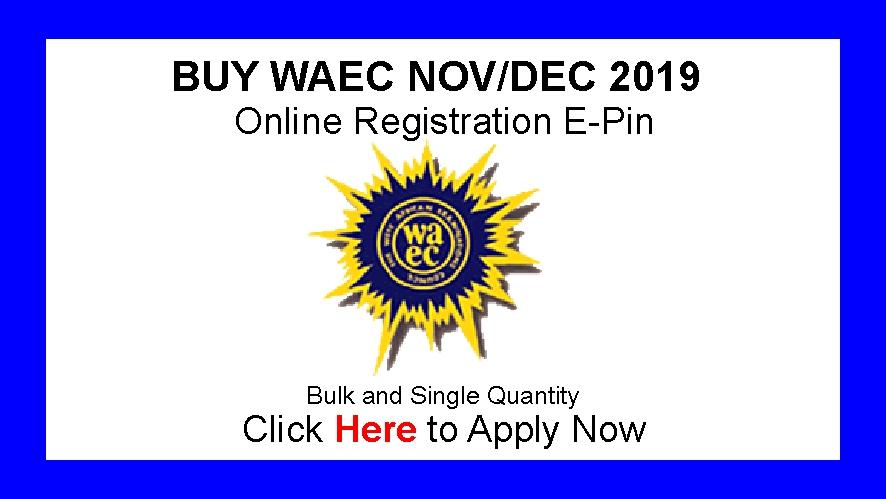 ALL MUKHTAR E-REGISTRATION CENTER : WAEC NOVEMBER/DECEMBER