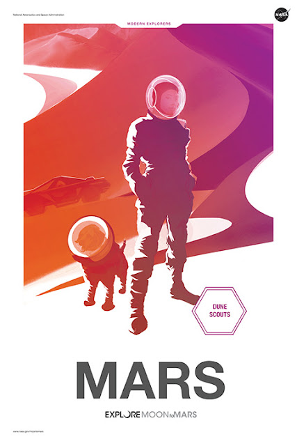 "Moon to Mars: ""Mars"" - Poster"