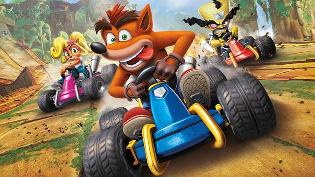 تحميل لعبة كراش للكمبيوتر مجانا Crash Team Racing