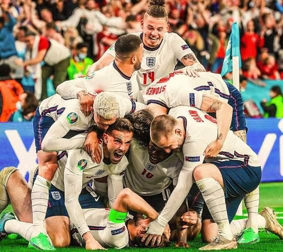 Inggris Menang Lawan Denmark EURO 2020