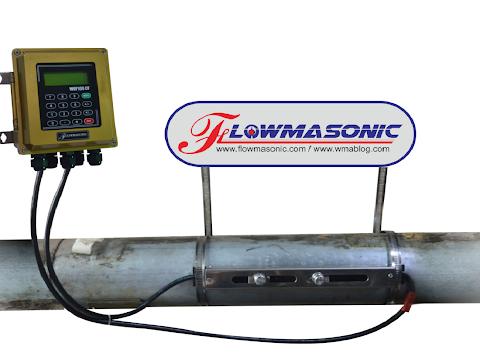 Cara Installasi Ultrasonic Clamp On Flow Meter