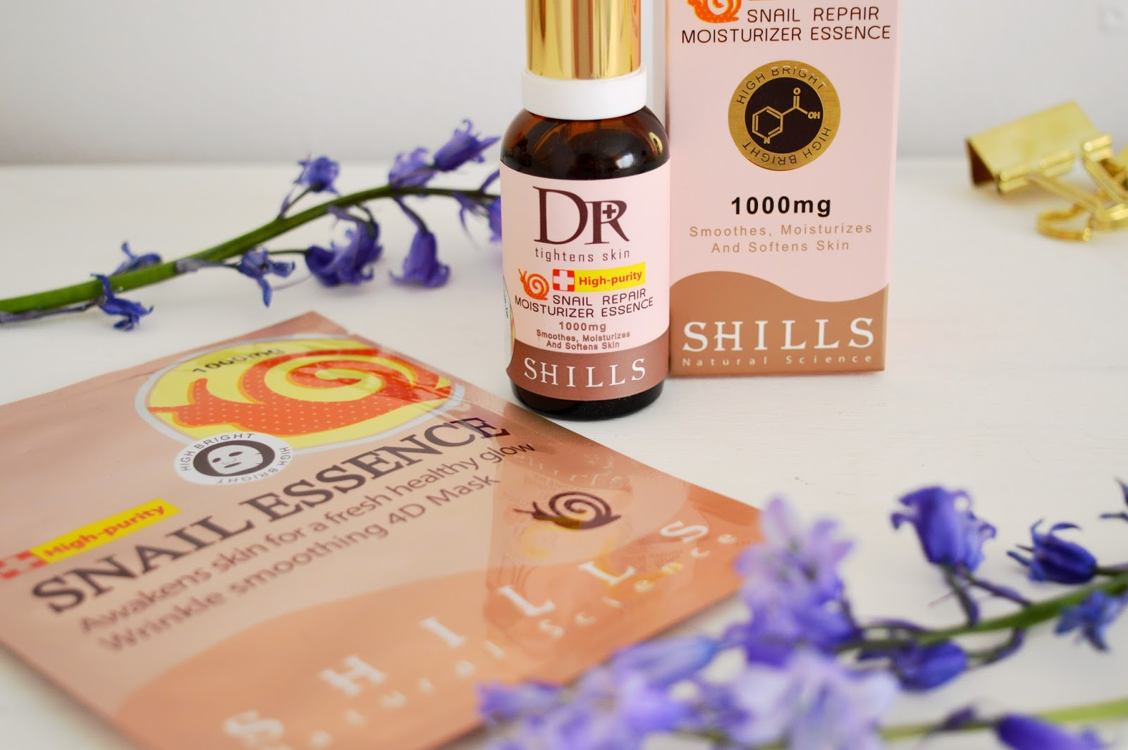 Dr Shills Snail Gel Skincare, snail slime skincare, beauty bloggers UK, Hampshire lifestyle blog