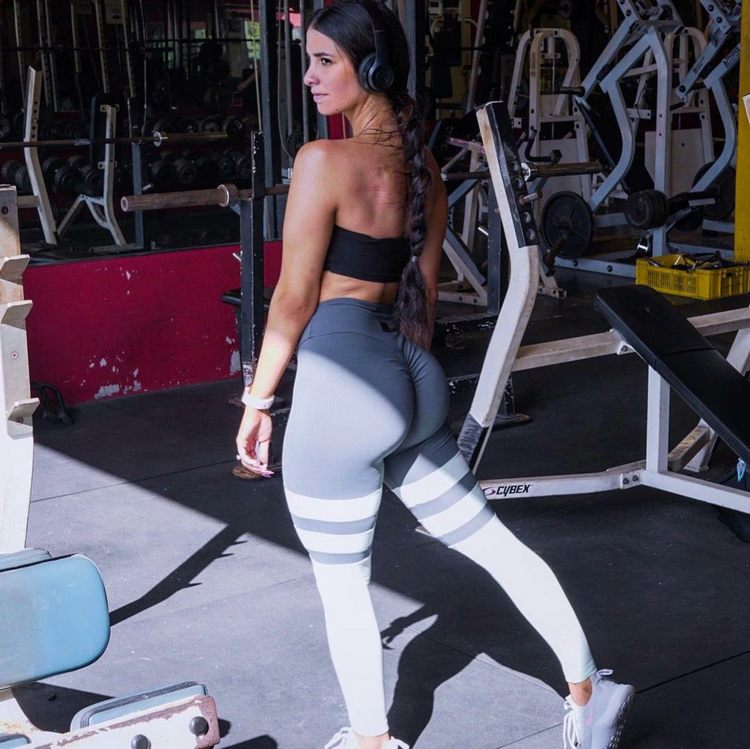 Diana Ruiz, the Cuban model of fitness that shapes social networks