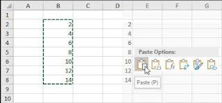 Copy dan Paste data Range