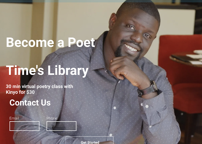 Become a Poet w/ Virtual Class from Time's Library
