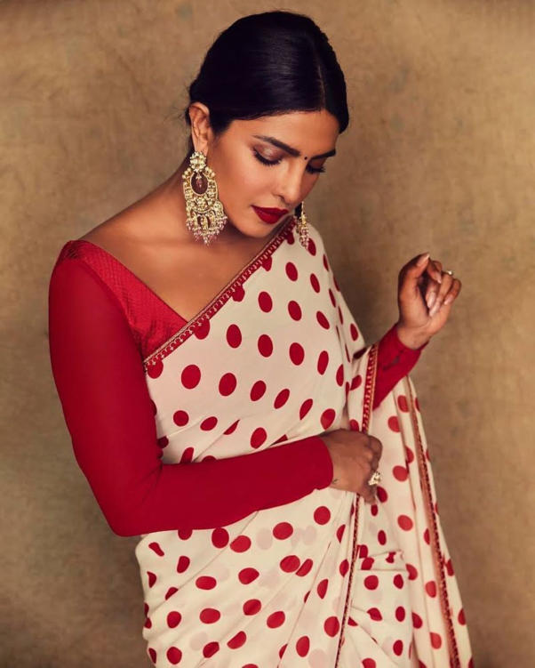 Priyanka Chopra Hot Photoshoot in Fashionable Saree