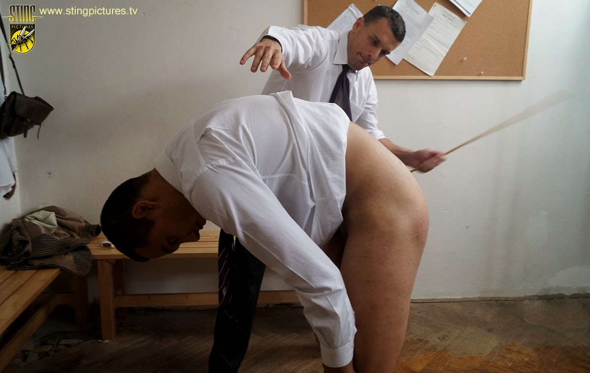 Warm spank him governess bare cane love her beautiful